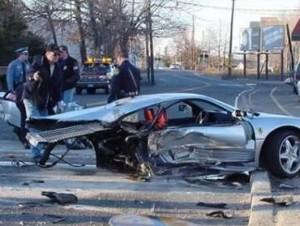 Porsche crash Picture