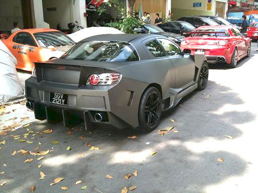 Mazda RX-8 with Lamborghini Reventon Body Kit | Sports Cars - No ...